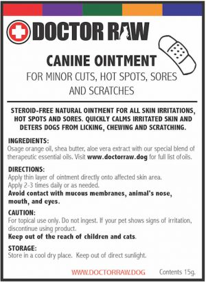 Canine Ointment