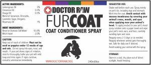 Fur Coat - Coat Conditioning Spray