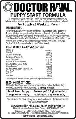 Puppy Start Formula