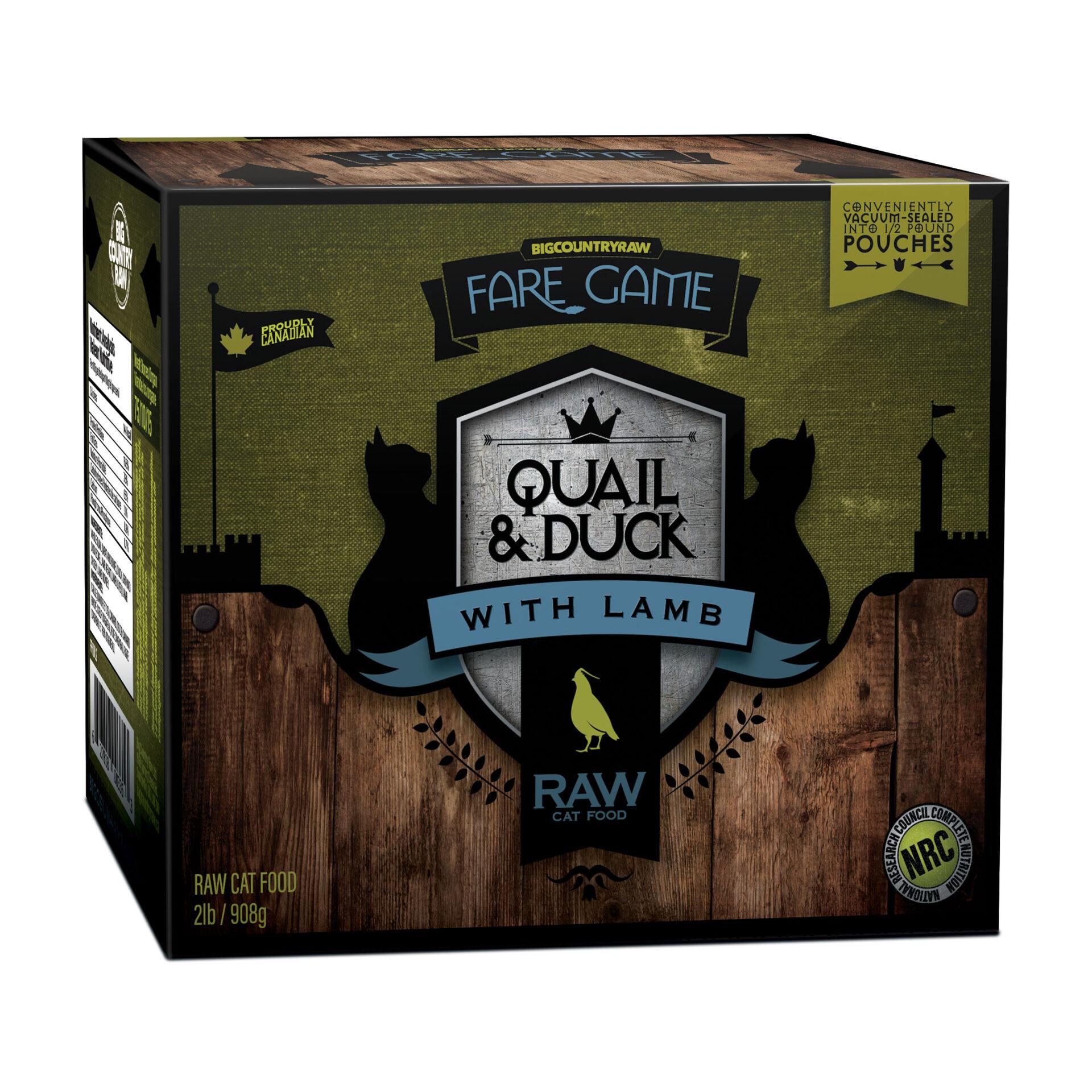 Quail Duck Lamb